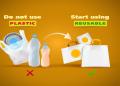 Care sunt alternativele de inlocuire a plasticului?