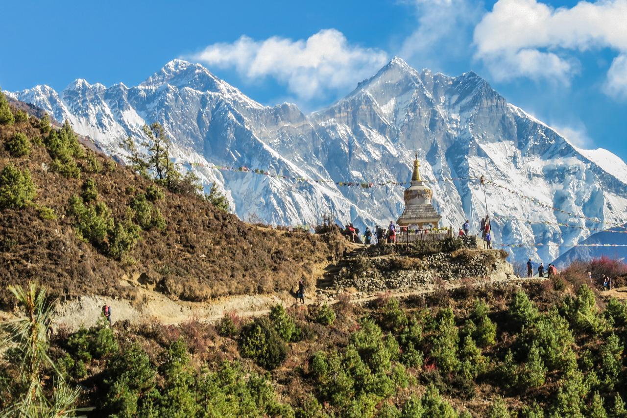 Unde este muntele Everest în Himalaya